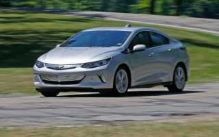 Электрокар Chevrolet Volt 2017