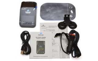 Как обновить автомобильный радар-детектор Neoline X-Cop 5500