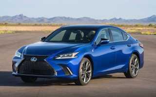 Обзор Lexus ES 2018