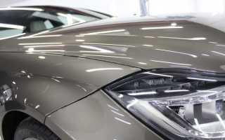 Защита кузова авто от потускнения с помощью нанокерамики