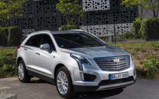 Новый Cadillac XT5 приехал в Россию