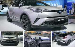 Обзор нового кроссовера Toyota C