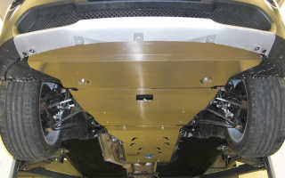 Как защитить картер автомобильного двигателя